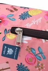 Nylon Kayla Crossbody Voyage Pink