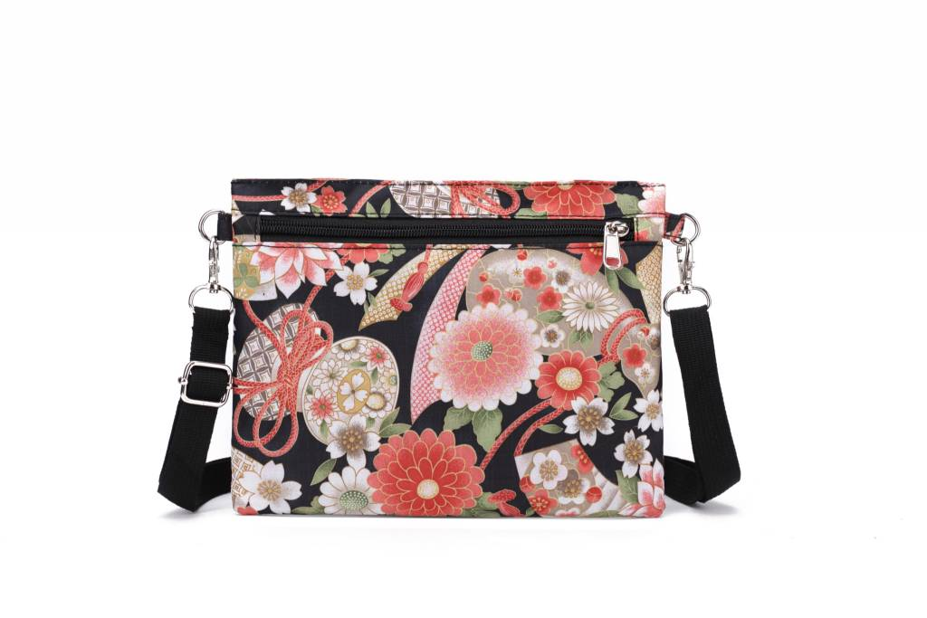 Nylon Jonelle Crossbody Asian Black