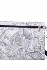 Nylon Jonelle Crossbody Seashell Grey