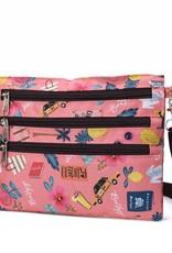 Nylon Jonelle Crossbody Voyage Pink