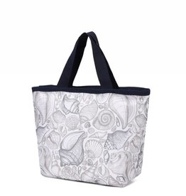 Nylon Rylee Tote Seashell Grey