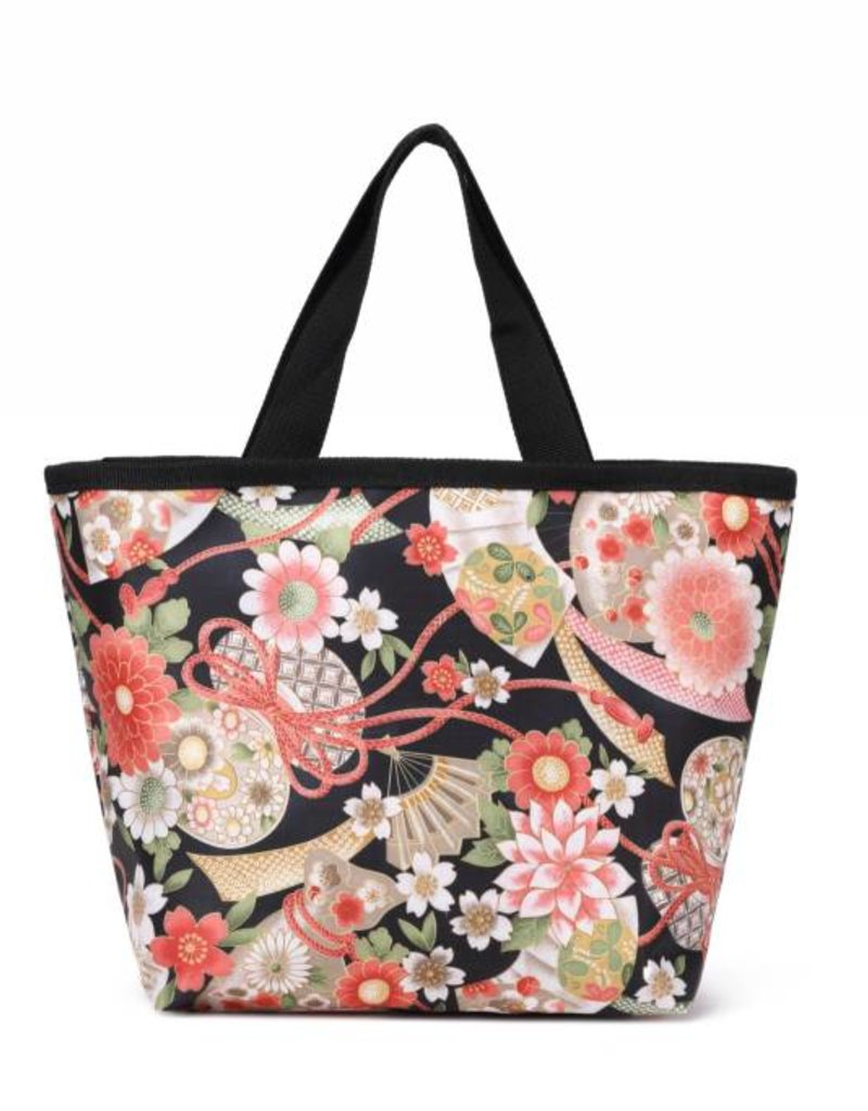 Nylon Rylee Tote Asian Black