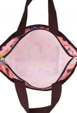 Nylon Rylee Tote Voyage Pink