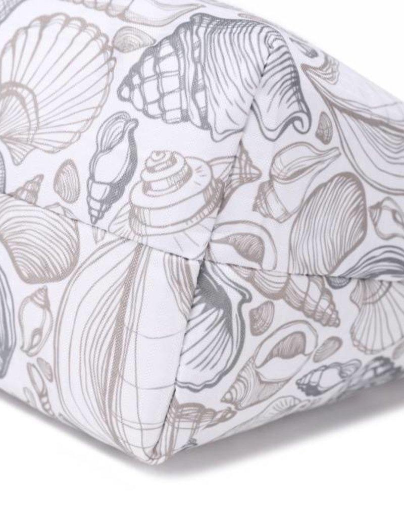 Nylon Rylee Tote Seashell Grey