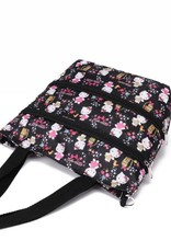 Nylon Amber Crossbody Kitty Black