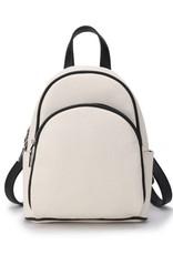 Backpack Lucy Hibiscus Embossed Beige