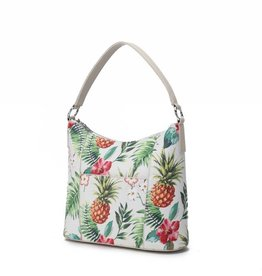 Hobo Bag Sara Vintage Pineapple Beige