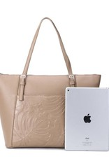 Tote Elizabeth Monstera Orchid Sand