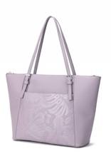 Tote Elizabeth Monstera Orchid Light Purple