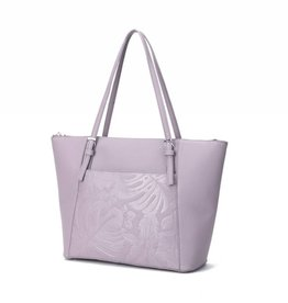 Tote Elizabeth Monstera Orchid Light Purple