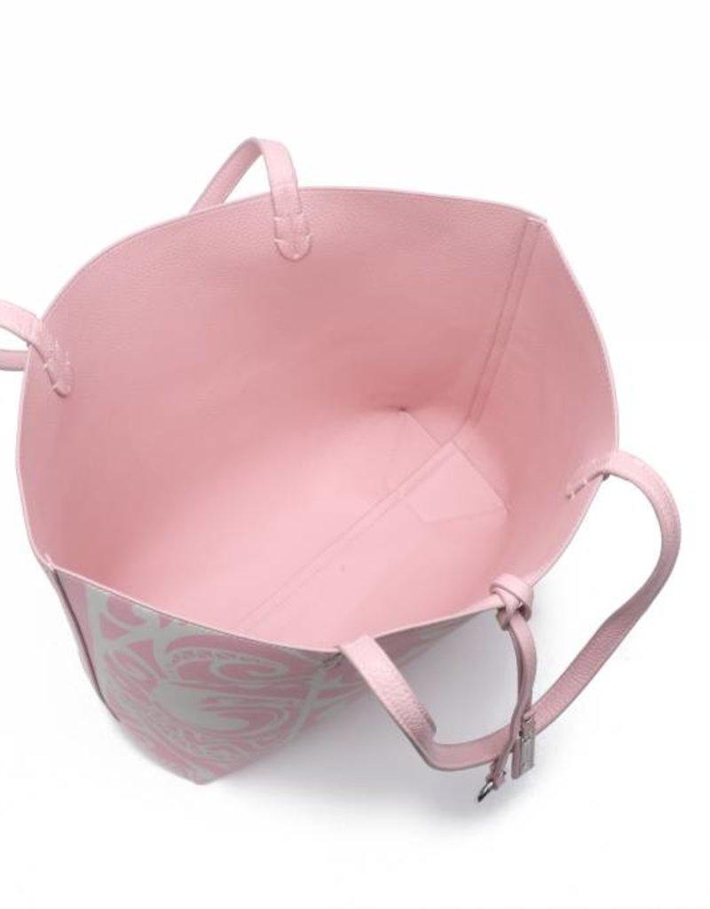 Rev Tote Nancy Tapa Tiare Light Pink Large