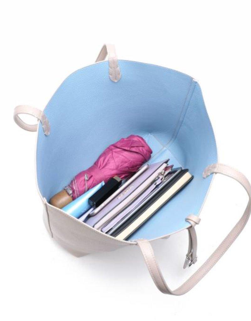 Rev Bag Emily Sand/Blue Large