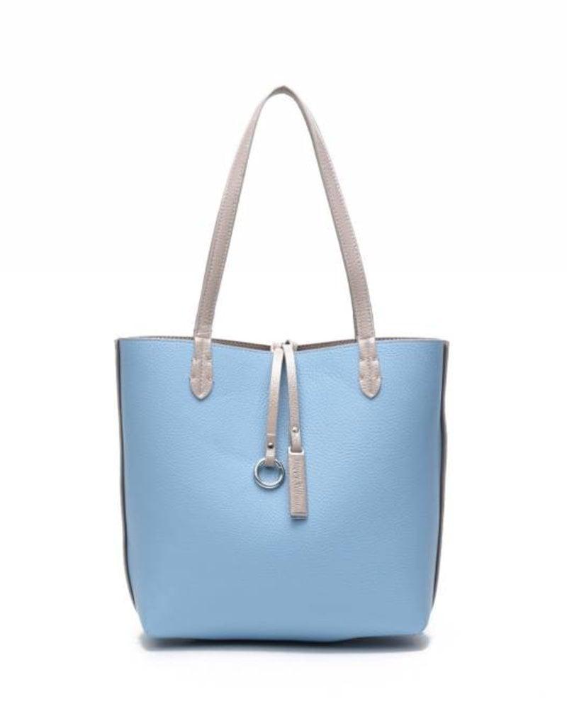 Rev Bag Emily Sand/Blue Small