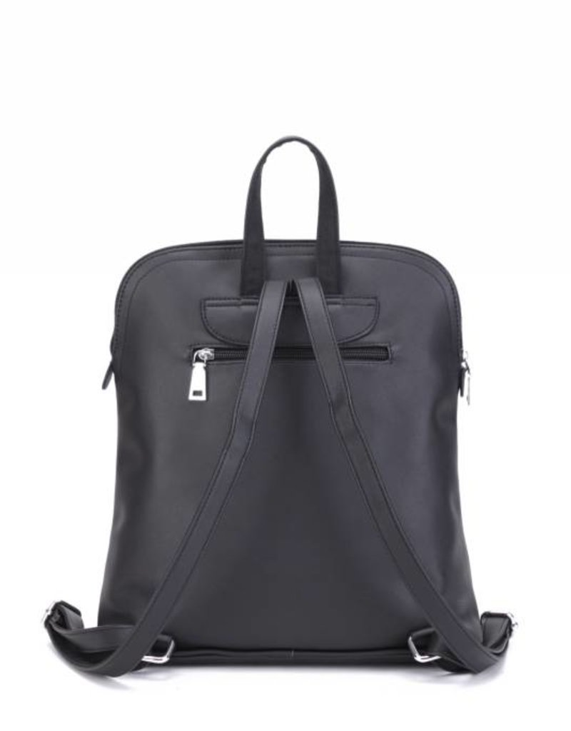 Backpack Sasha Tapa Tiare Black Embossed