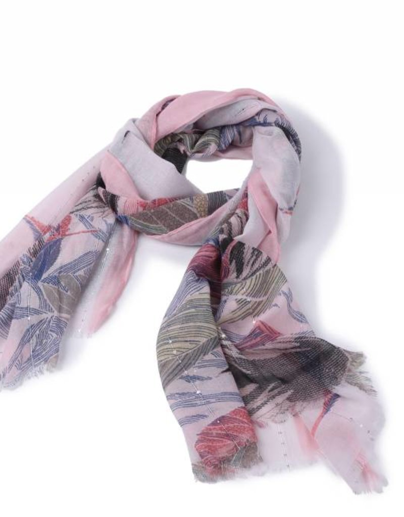 Happy Wahine Scarf Danielle Forest Pink