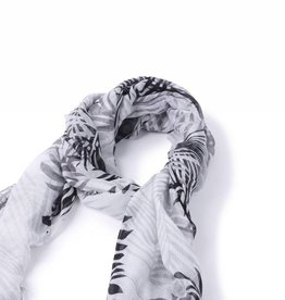 Happy Wahine Scarf Danielle Palmleaf Black