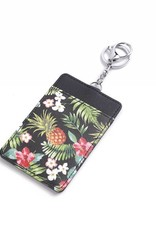 Card Case April Vintage Pineapple Black
