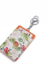 Card Case April Vintage Pineapple Beige