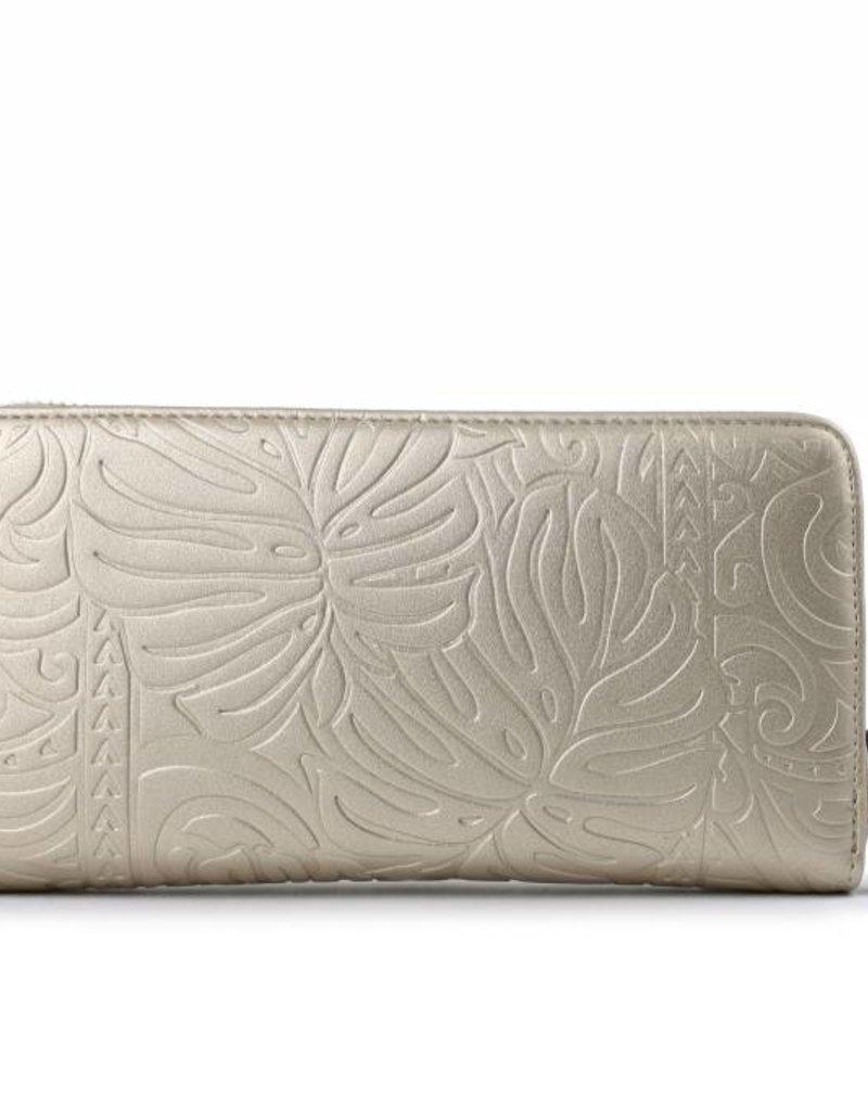 Wallet Kaylee Monstera Gold Met Emb