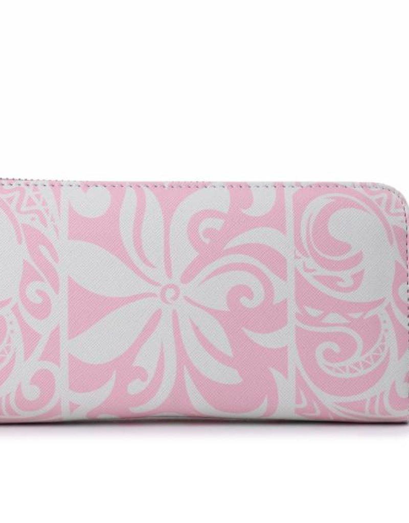 Wallet Kaylee Tapa Tiare Light Pink