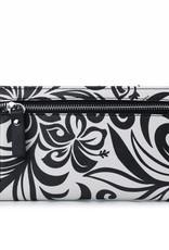Wallet Teyla Hibiscus Black