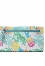 Happy Wahine Wallet Teyla Spring Pineapple Green