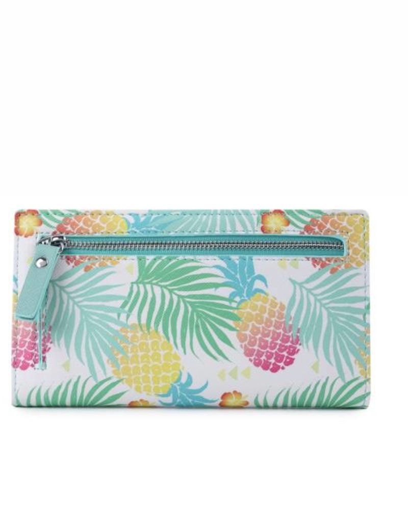 Wallet Teyla Spring Pineapple Green