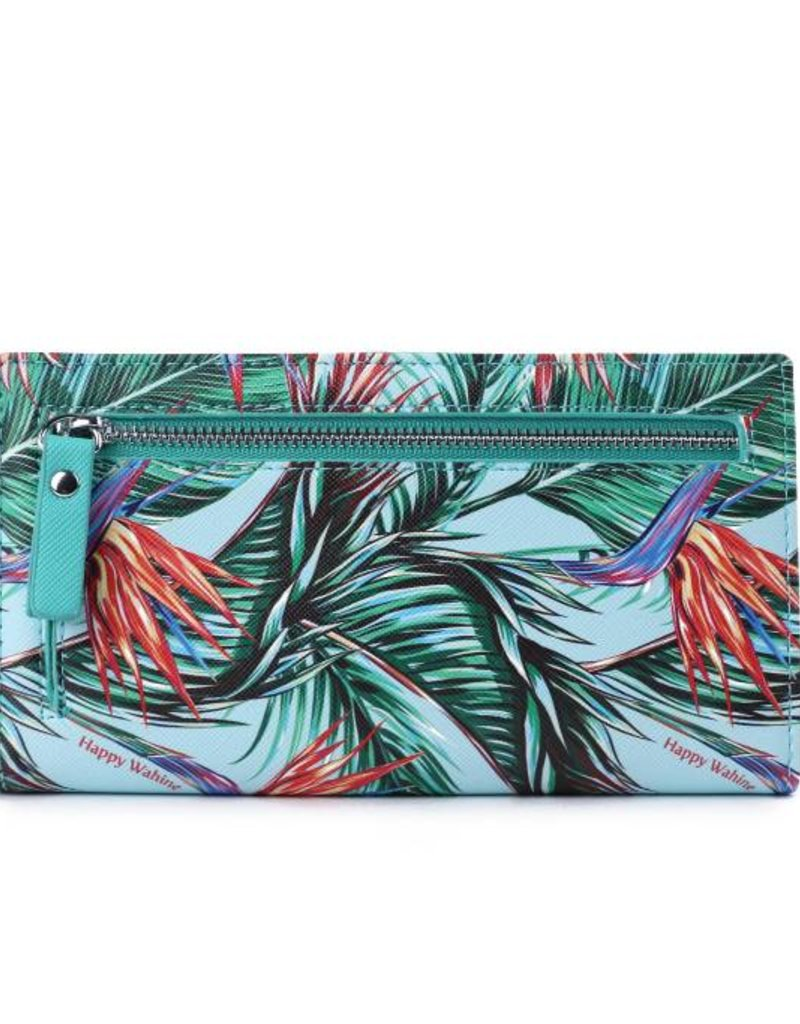 Wallet Teyla Bird of Paradise Blue