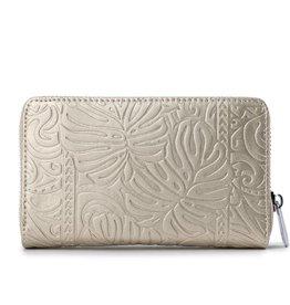 Wallet Chloe Monstera Gold Met Emb