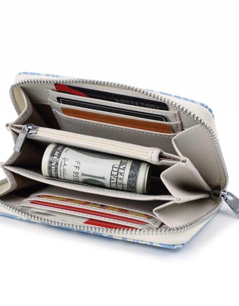 Wallet Chloe Tapa Tiare Light Blue
