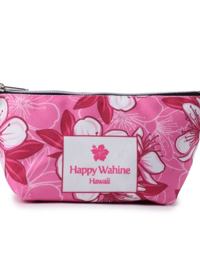 Happy Wahine Everyday HI Pouch Hibscus Pink