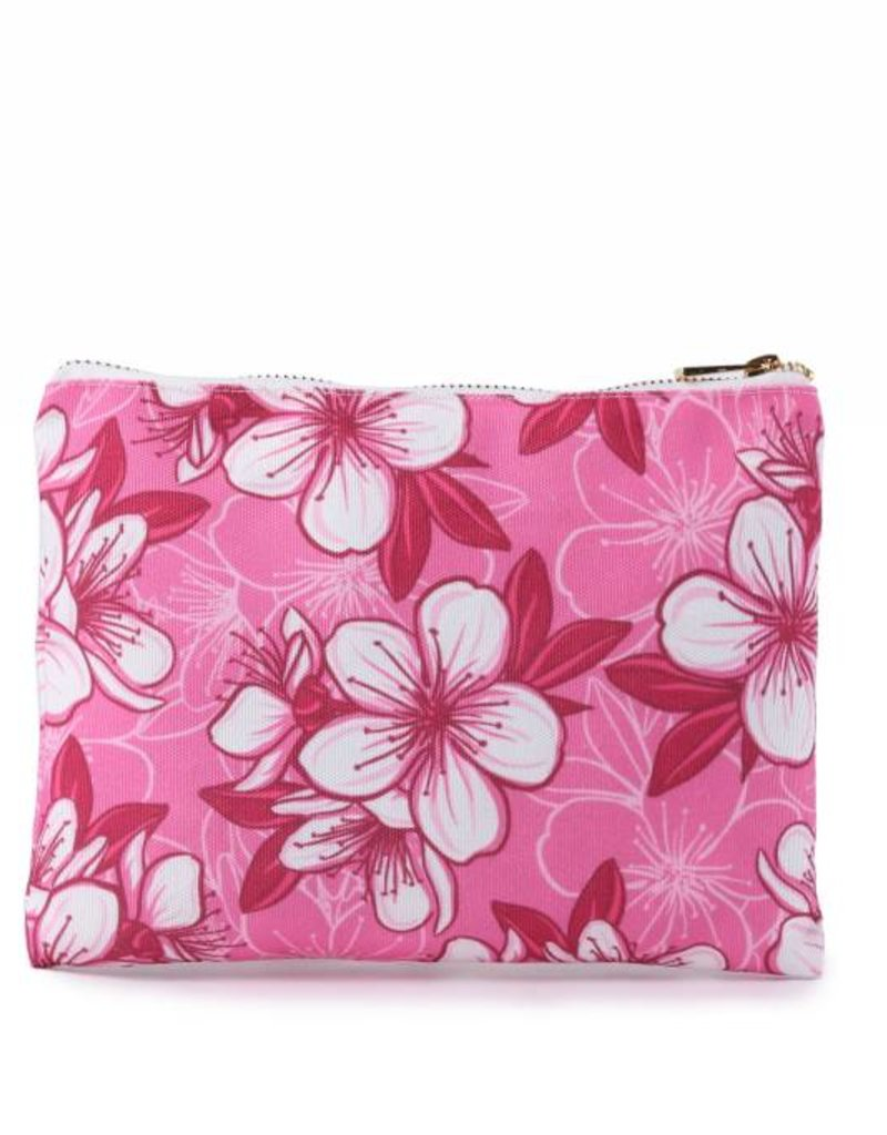 Everyday HI Flat Pouch Hibscus Pink