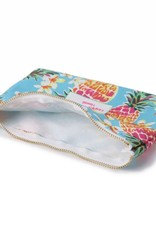 Everyday HI Flat Pouch Pineapple Blue