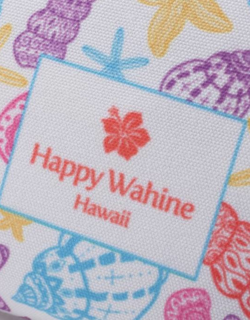 Happy Wahine Everyday HI Flat Pouch Shells Orange