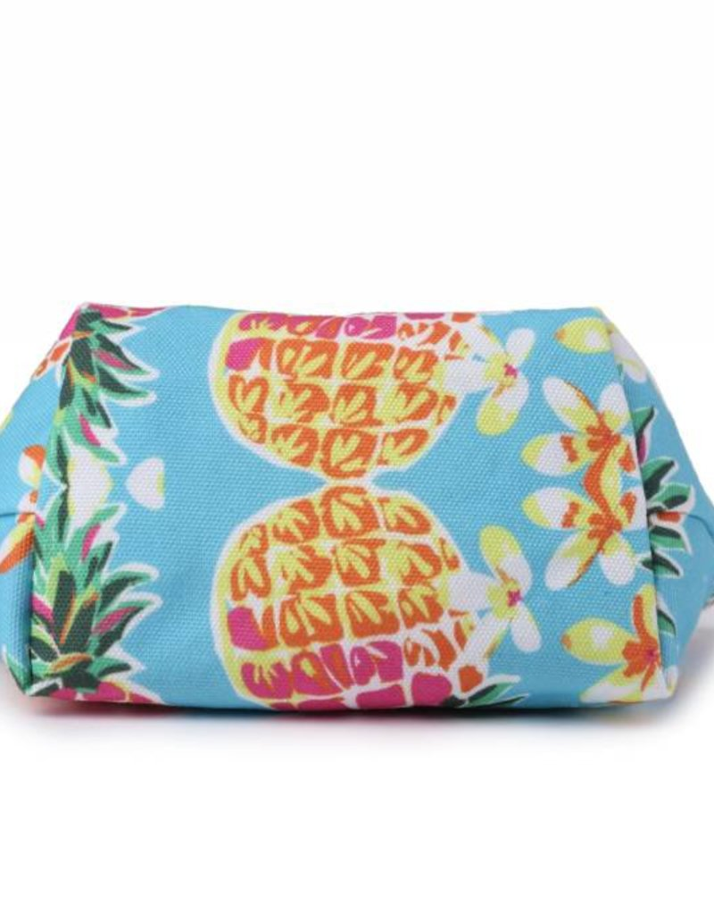 Happy Wahine Everyday HI Pouch Pineapple Blue