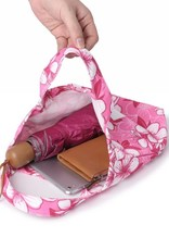 Happy Wahine Everyday HI Small Tote Hibscus Pink