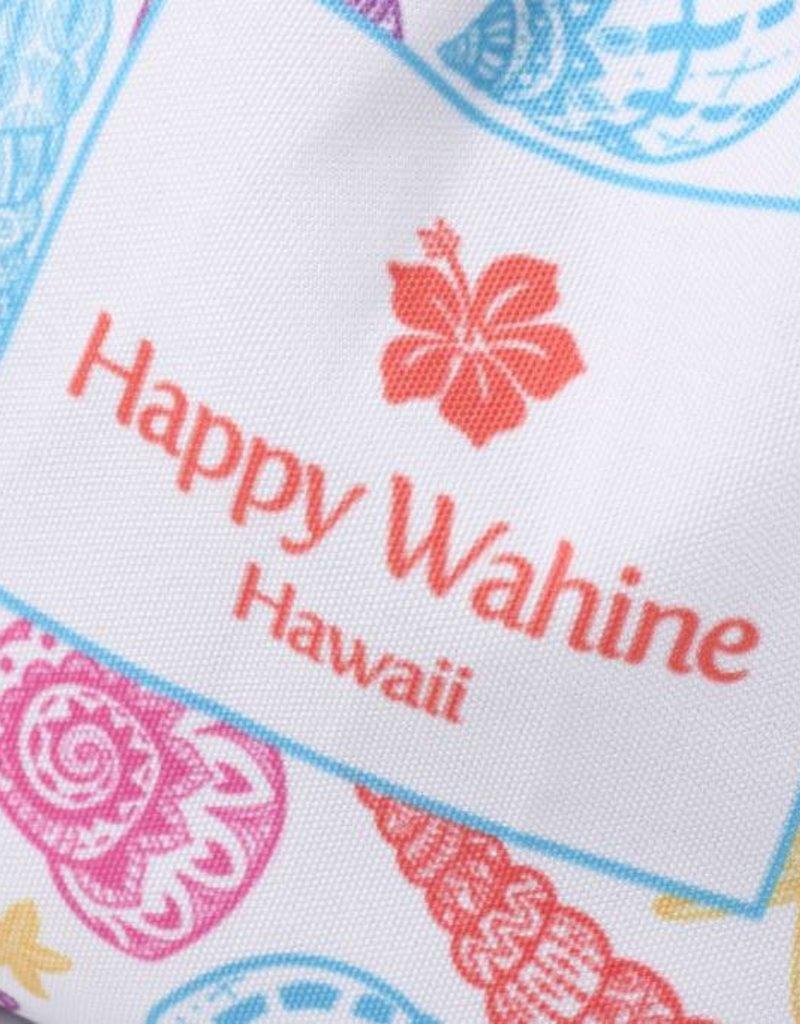 Happy Wahine Everyday HI Small Tote Shells Orange