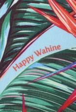 Happy Wahine Everyday HI Towel Bird of Paraidse