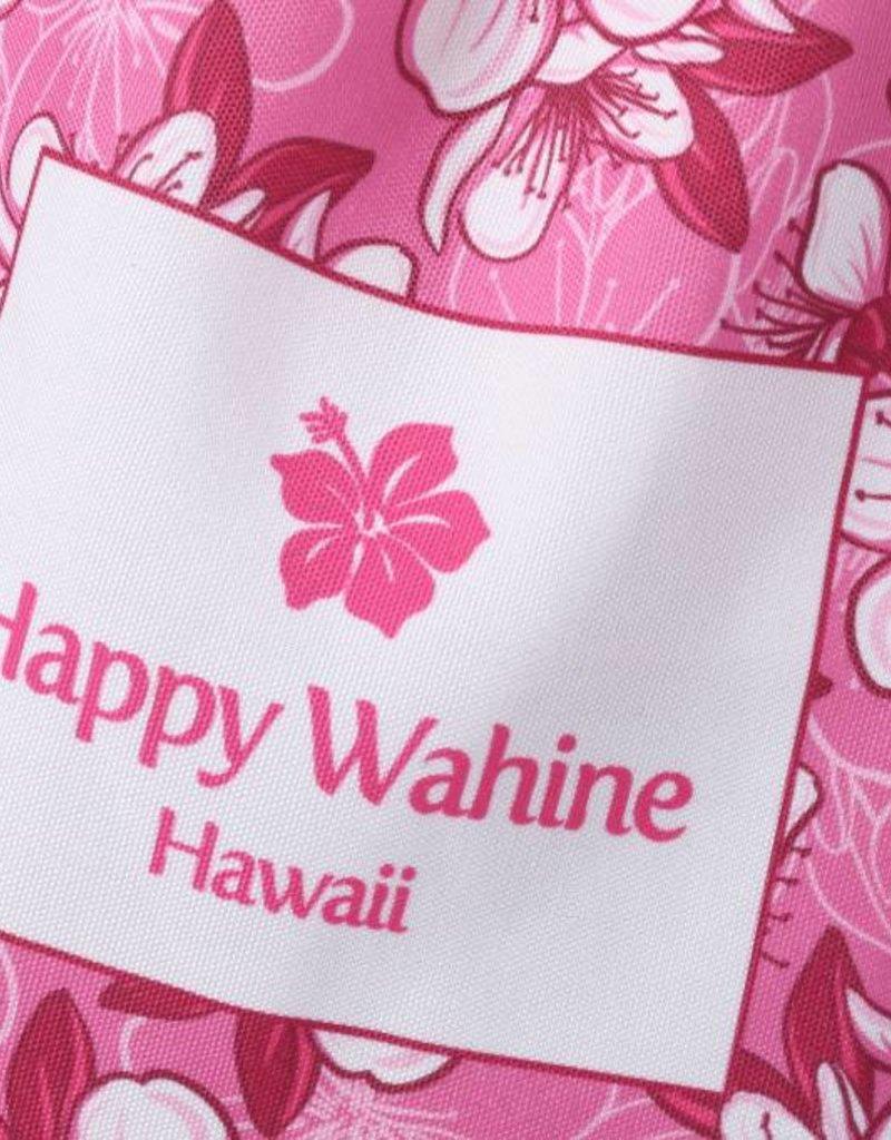 Happy Wahine Everyday HI Tote Hibscus Pink