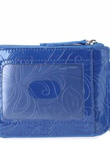 Happy Wahine Card Case May Hibiscus Blue