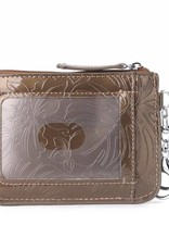 Card Case May Monstera Orchid Brown