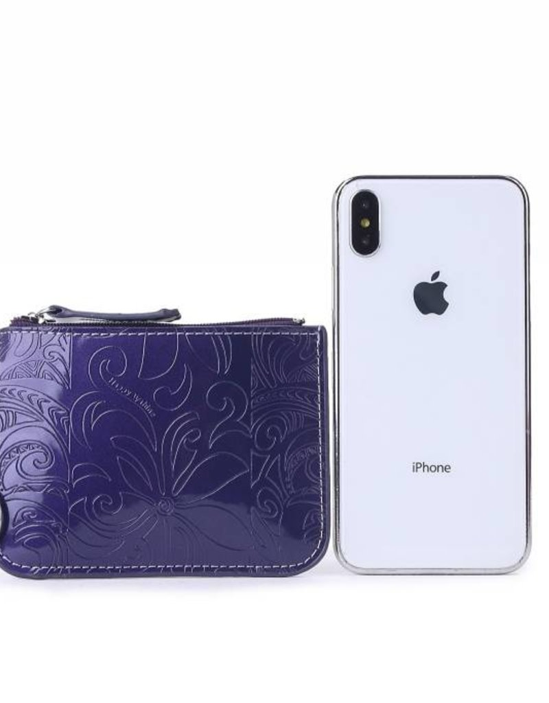 Card Case May Tapa Tiare Indigo