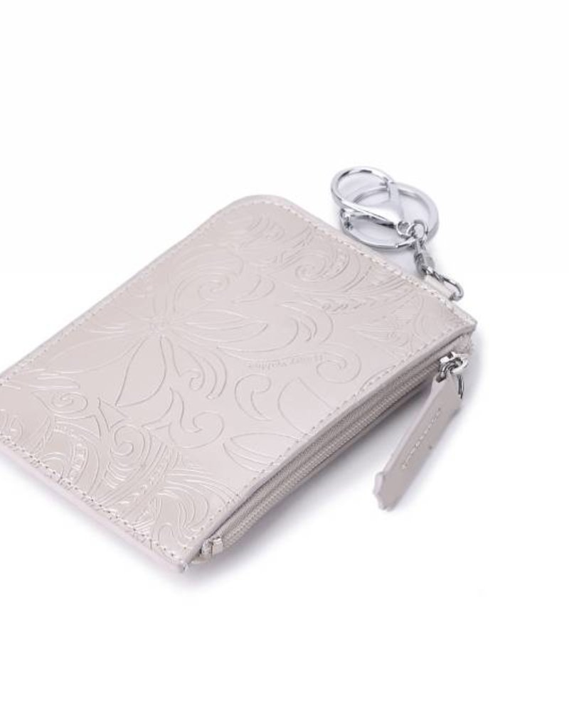 Card Case May Tapa Tiare Silver
