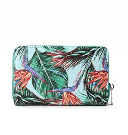 Wallet Chloe Bird of Paradise Blue