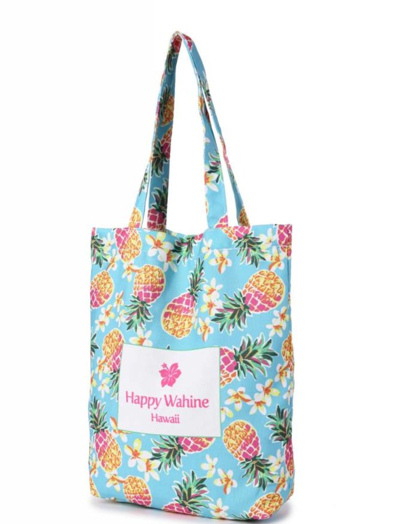Everyday HI Tote Pineapple Blue