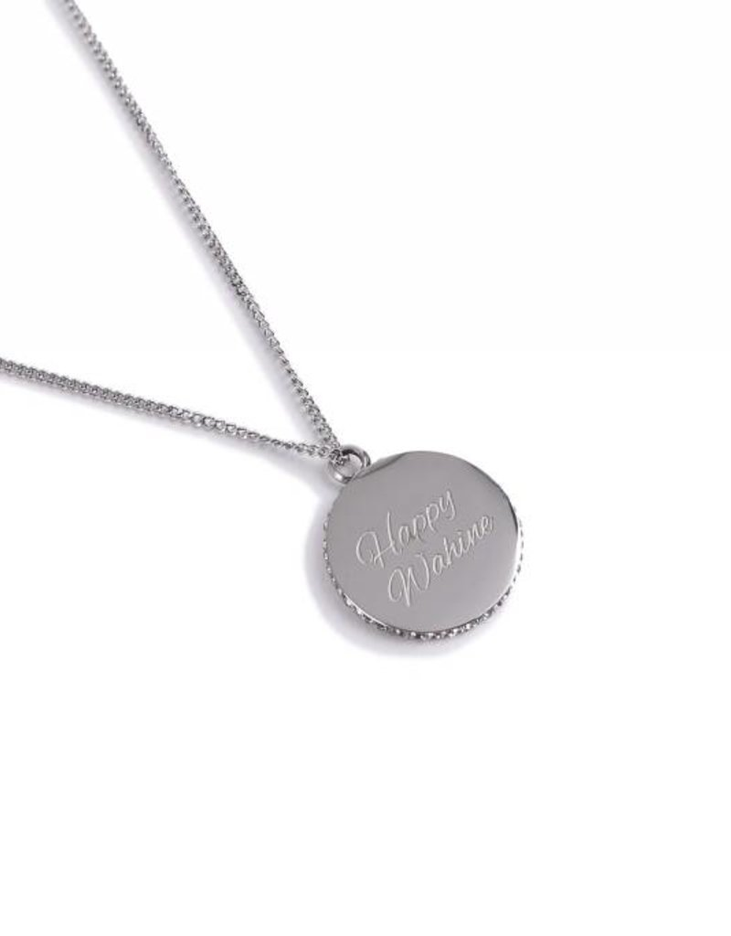 Necklace Aloha/Wahine Silver 26in