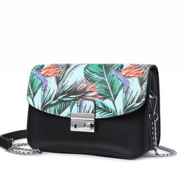 Crossbody Janice Flap Bird of Paradise Blue