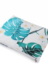 Happy Wahine Pouch Lilo Monstera Medium