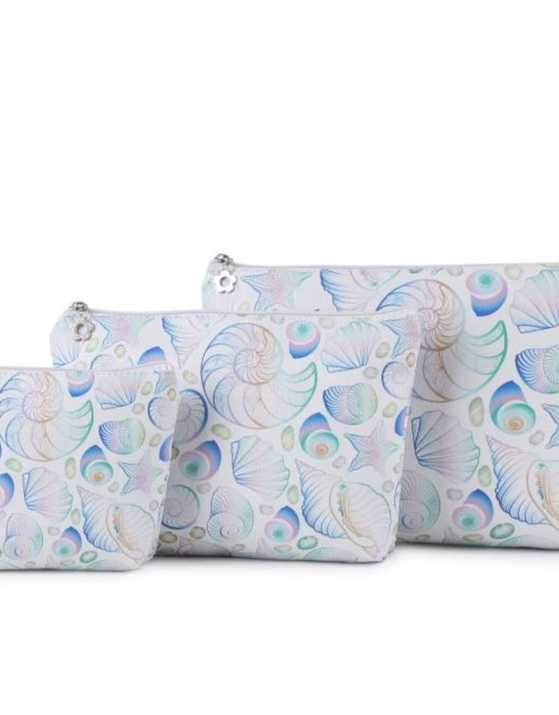 Happy Wahine Pouch Lilo Seashells Small