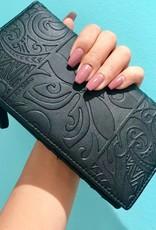 Wallet Teyla Tapa Tiare Black Emb